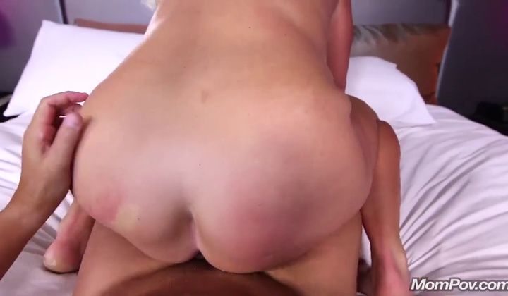 Mom Pov Lyla 48 Years Blonde Milf Spunker