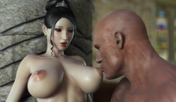 Interracial - 3d Beauty Getting Fucked Very Hard